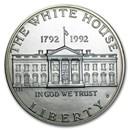 1992-D White House $1 Silver Commem BU (Capsule only)