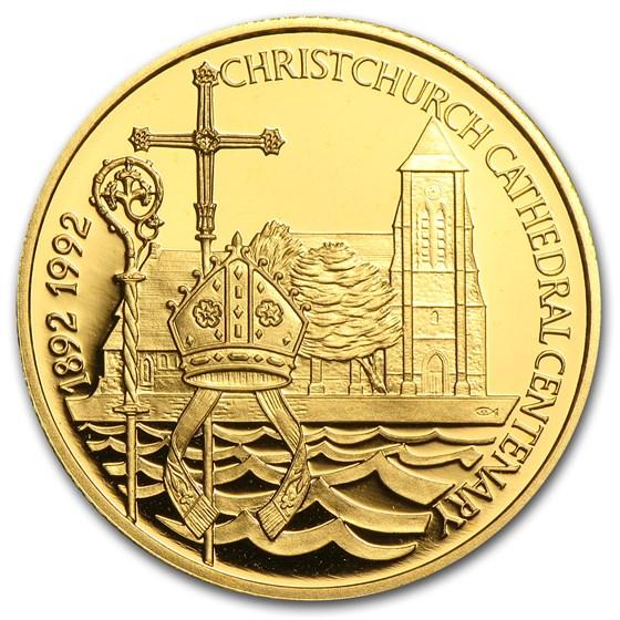 1992 Falkland Islands Gold 25 Pounds Proof