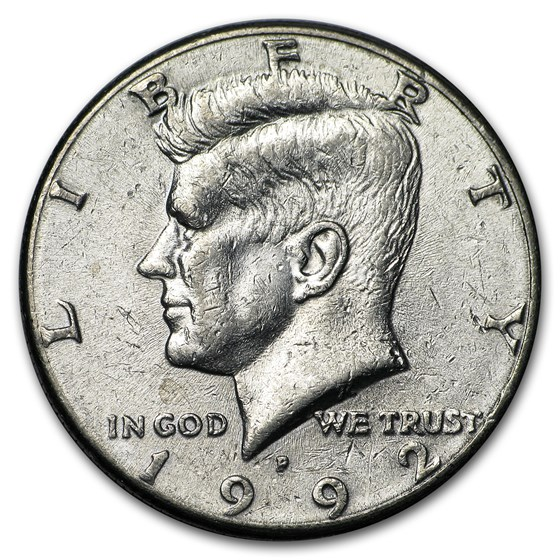 1992-P Kennedy Half Dollar BU