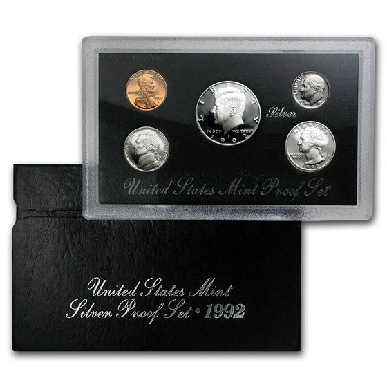 1992-S Silver Proof Set