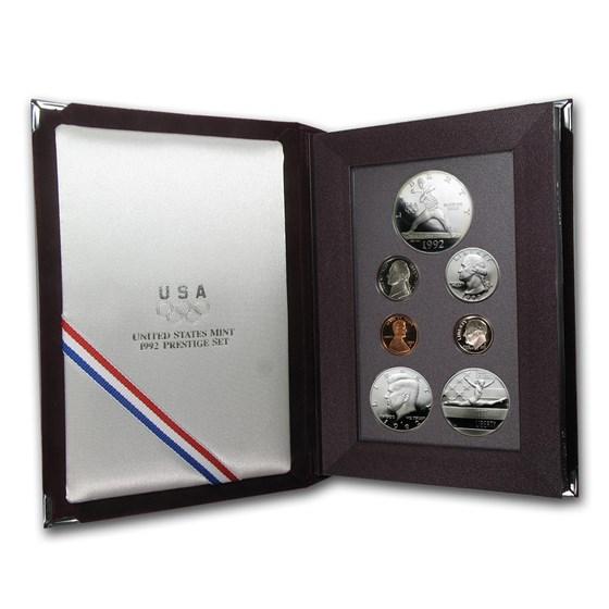 1992 U.S. Mint Prestige Set