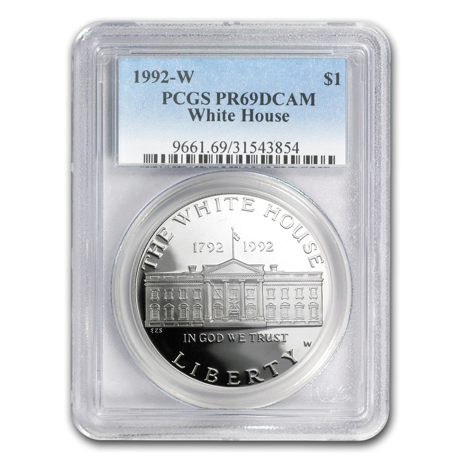 1992-W White House $1 Silver Commem PR-69 PCGS