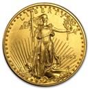 1993 1/2 oz American Gold Eagle BU