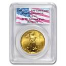 1993 1 oz American Gold Eagle Gem Unc PCGS (World Trade Center)