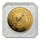 1993 Australia 1 oz Gold Nugget BU