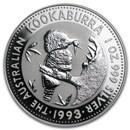 1993 Australia 1 oz Silver Kookaburra BU