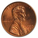 1993-D Lincoln Cent BU (Red)