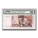 1993 Germany 1,000 Deutsche Marks, GEM Unc-66 EPQ, PMG, STAR Note