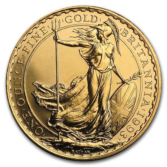 1993 Great Britain 1 oz Gold Britannia BU