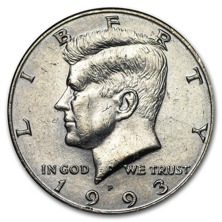 1993-P Kennedy Half Dollar BU