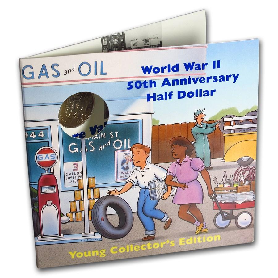 1993-P World War II 1/2 Dollar Clad Commem BU (Young Coll.)