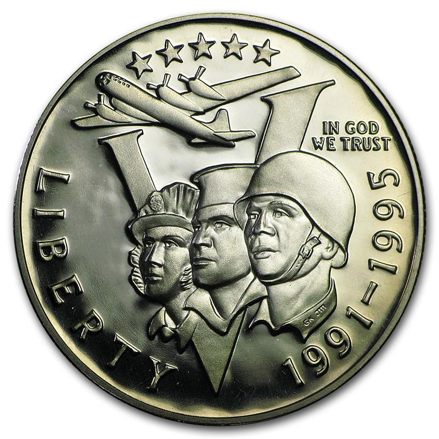 1993-P World War II 1/2 Dollar Clad Commem Proof (Capsule only)