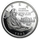 1993-S Bill of Rights 1/2 Dollar Silver Commem Prf (Capsule Only)