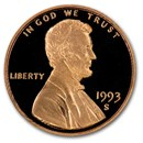 1993-S Lincoln Cent Gem Proof (Red)