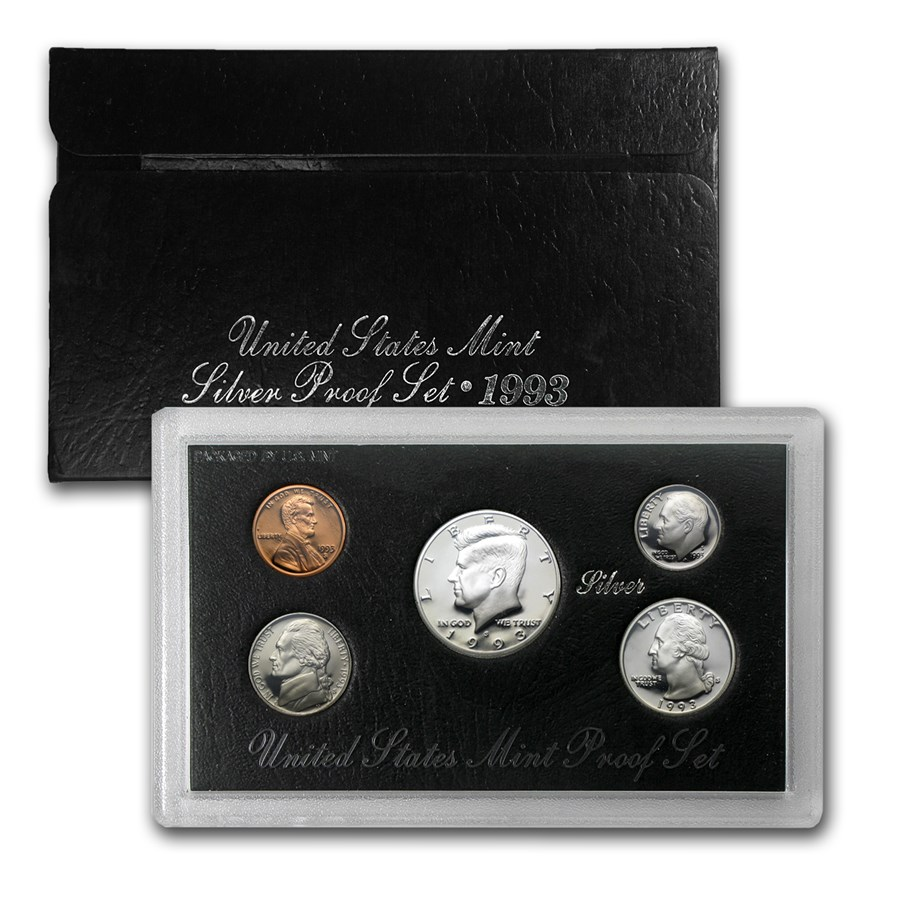 1993-S Silver Proof Set