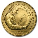 1993-W Gold $5 Commem Bill of Rights BU (Capsule Only)