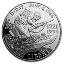 1993-W World War II $1 Silver Commem Proof (Capsule only)
