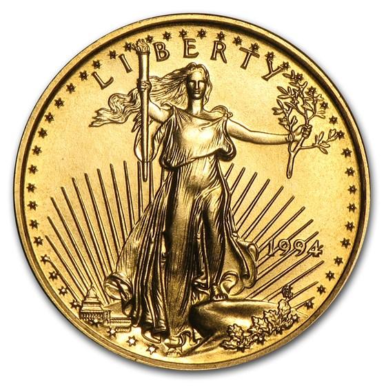 1994 1/10 oz American Gold Eagle BU