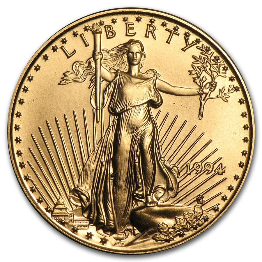 1994 1/2 oz American Gold Eagle BU