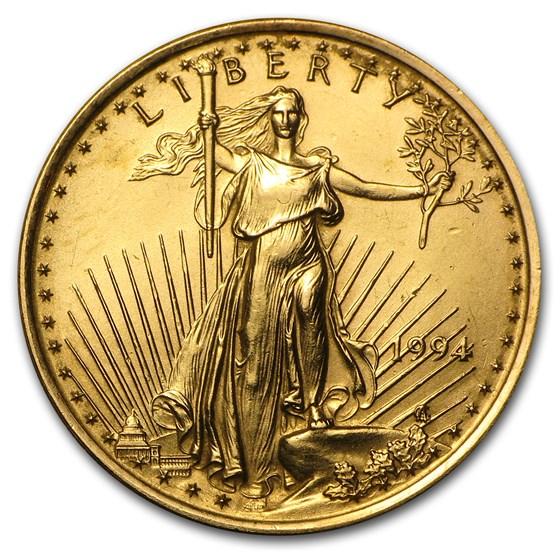 1994 1/4 oz American Gold Eagle BU