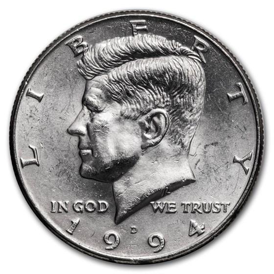 1994-D Kennedy Half Dollar BU