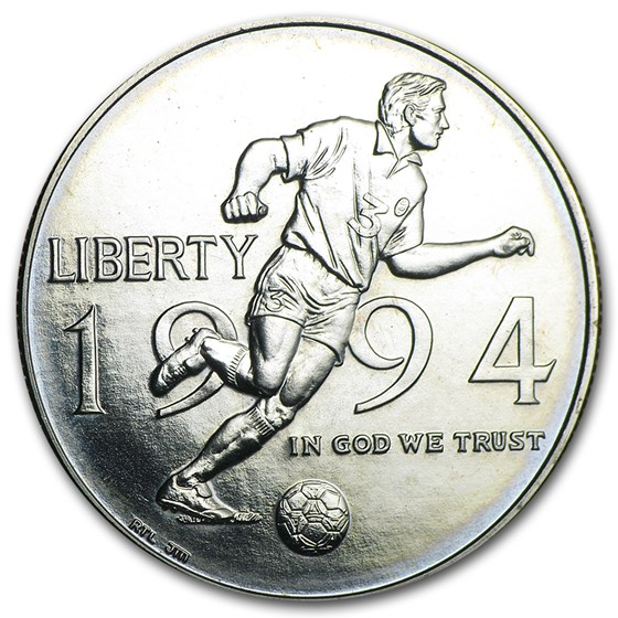 1994-D World Cup 1/2 Dollar Clad Commem BU (Capsule Only)