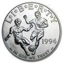 1994-D World Cup $1 Silver Commem BU (Capsule only)