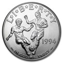 1994-D World Cup $1 Silver Commem BU (w/Box & COA)