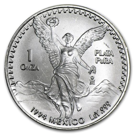 1994 Mexico 1 oz Silver Libertad BU