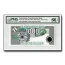 1994 Netherlands 1,000 Gulden, P-102, 0303, PMG GEM Unc-66 EPQ