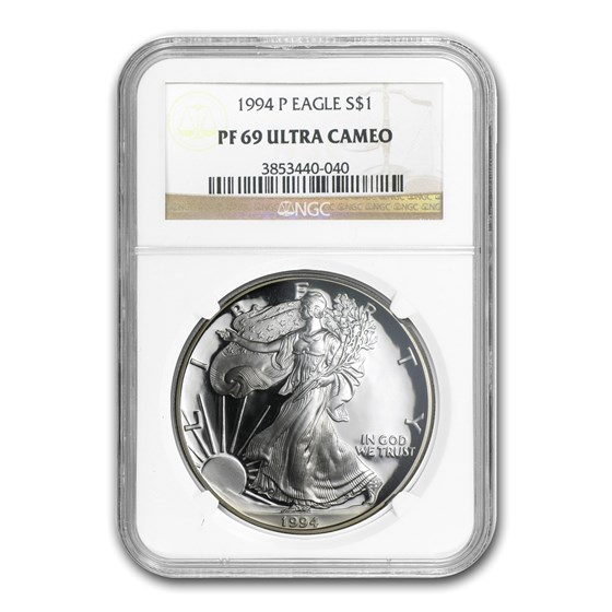1994-P Proof American Silver Eagle PF-69 NGC