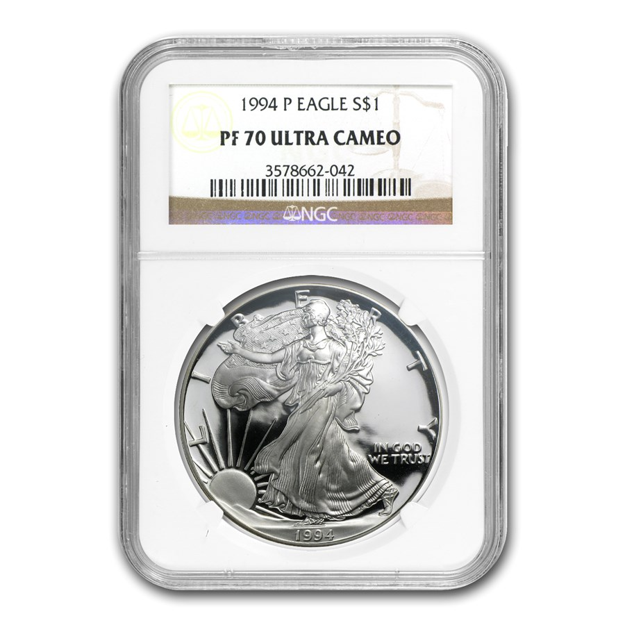 1994-P Proof American Silver Eagle PF-70 NGC