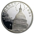 1994-S Capitol $1 Silver Commem Proof (Capsule Only)