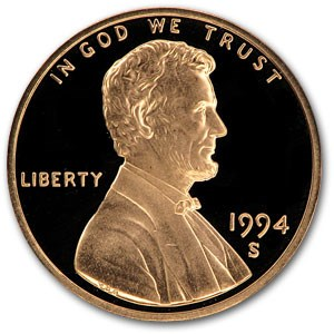 1994-S Lincoln Cent Gem Proof (Red)
