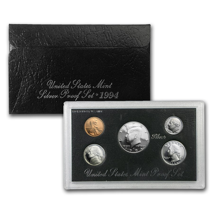1994-S Silver Proof Set