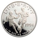 1994-S World Cup $1 Silver Commem Proof (Capsule only)