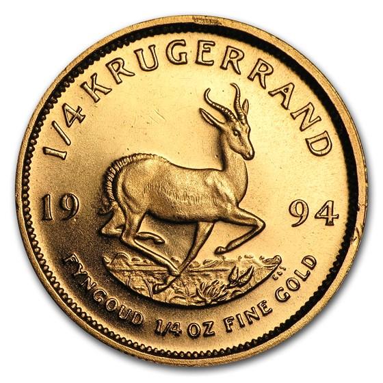 1994 South Africa 1/4 oz Gold Krugerrand