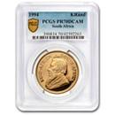 1994 South Africa 1 oz Gold Krugerrand PR-70 PCGS