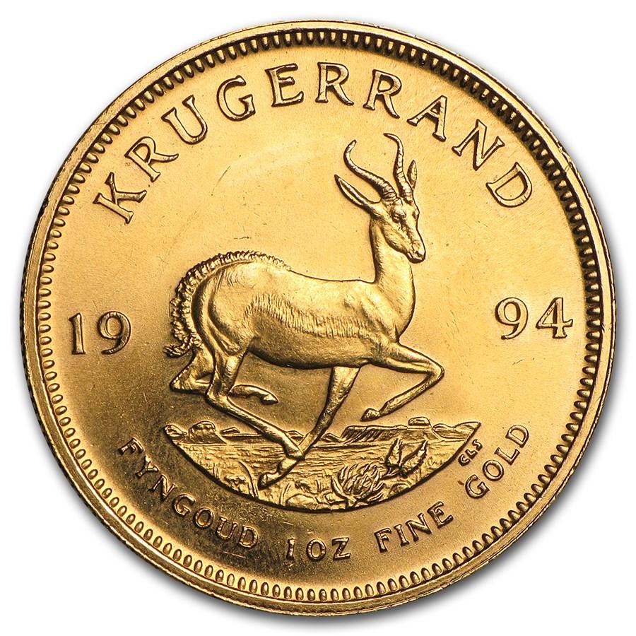 1994 South Africa 1 oz Gold Krugerrand