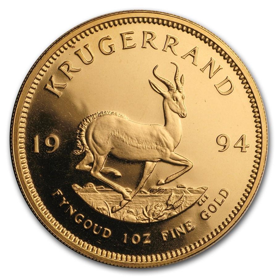 1994 South Africa 1 oz Proof Gold Krugerrand