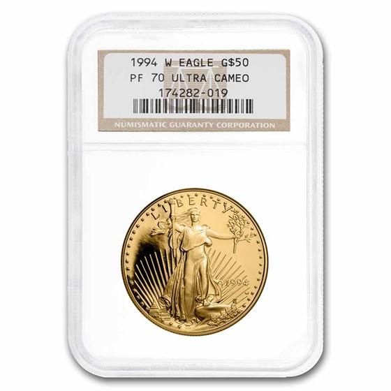 1994-W 1 oz Proof American Gold Eagle PF-70 NGC