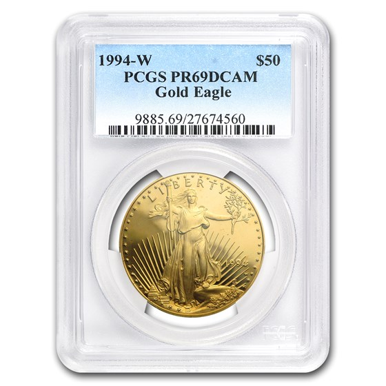 1994-W 1 oz Proof American Gold Eagle PR-69 DCAM PCGS