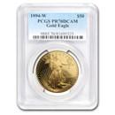 1994-W 1 oz Proof American Gold Eagle PR-70 PCGS