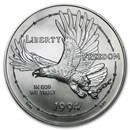 1994-W Prisoner of War $1 Silver Commem BU (Capsule only)