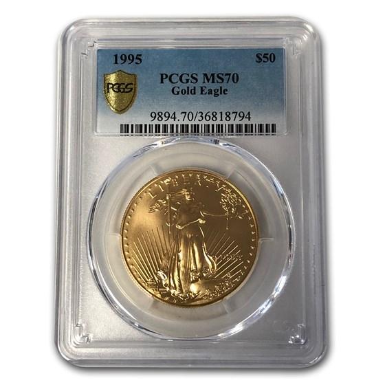 1995 1 oz American Gold Eagle MS-70 PCGS