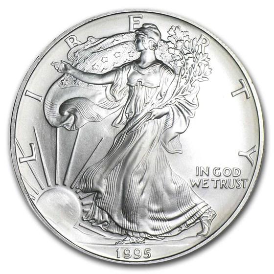 1995 1 oz American Silver Eagle BU