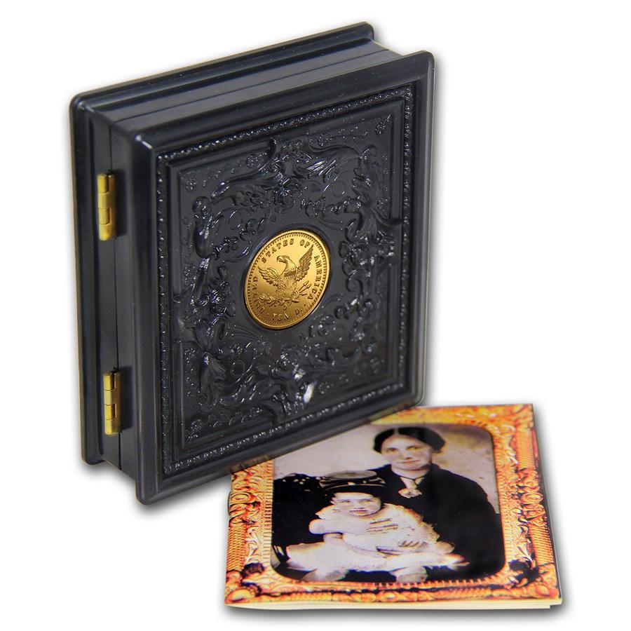 1995 3-Coin Commem Civil War Prf Set (Rare Union Case, Box & COA)