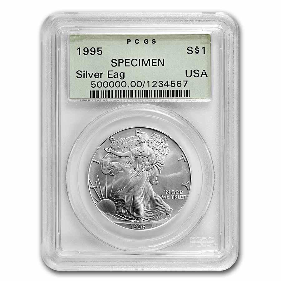 1995 American Silver Eagle SPECIMEN PCGS