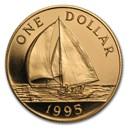 1995 Bermuda Proof Gold Dollar