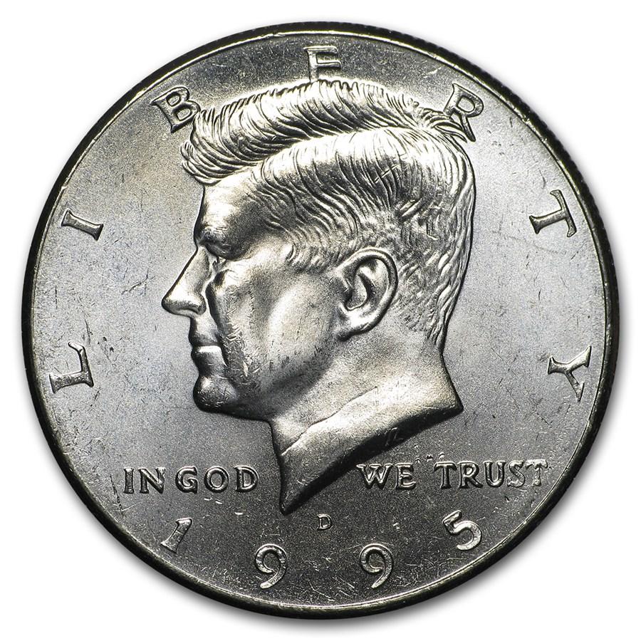 1995-D Kennedy Half Dollar BU